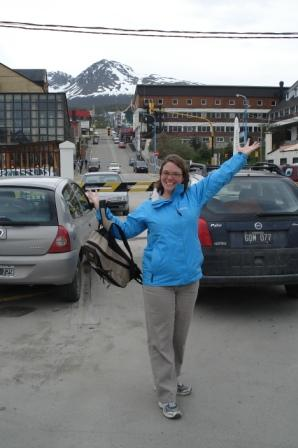 Then it is was down to Ushuaia, in Tierra Del Fuego, el fin del mundo.